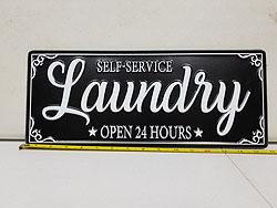 LAUNDRY WALL SIGN -542345