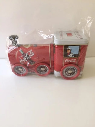Coke Train - 1990's  Train Tin Collectables