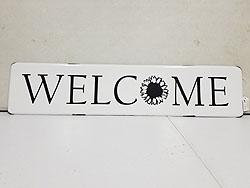 WELCOME WALL SIGN -542346