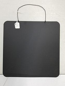 FLAT BLACK CHALK BOARD  -58420