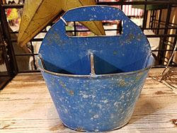 BLUE DIVIDED PAIL