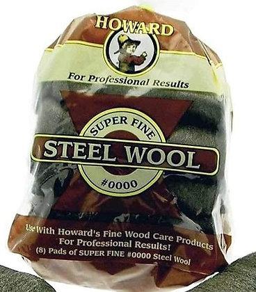 Howards 0000 Steel Wool