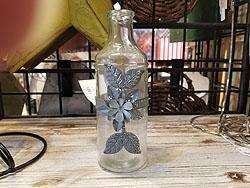 TL VASE W/TRYWSH FLOWER GLASS