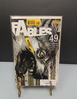 """Vertigo, Fables, """"Wolves"""" No. 49 July 06"""