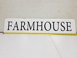 FARMHOUSE WALL SIGN -542347