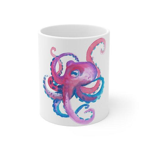 Colorful Octopus Mug 11oz