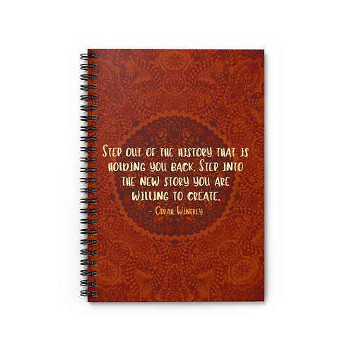 Oprah Quote | Spiral Notebook - Ruled Line