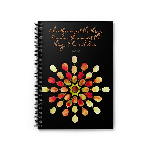 Lucille Ball Quote | Spiral Notebook - Ruled Line