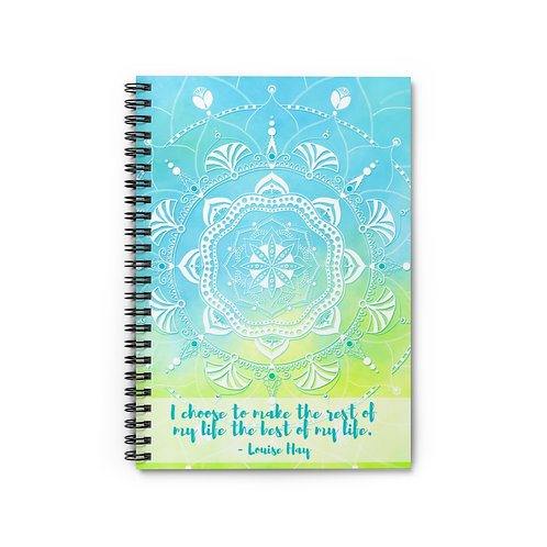 Louise Hay Quote | Spiral Notebook - Ruled Line