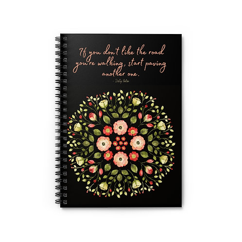 Dolly Parton Quote   Spiral Notebook - Ruled Line