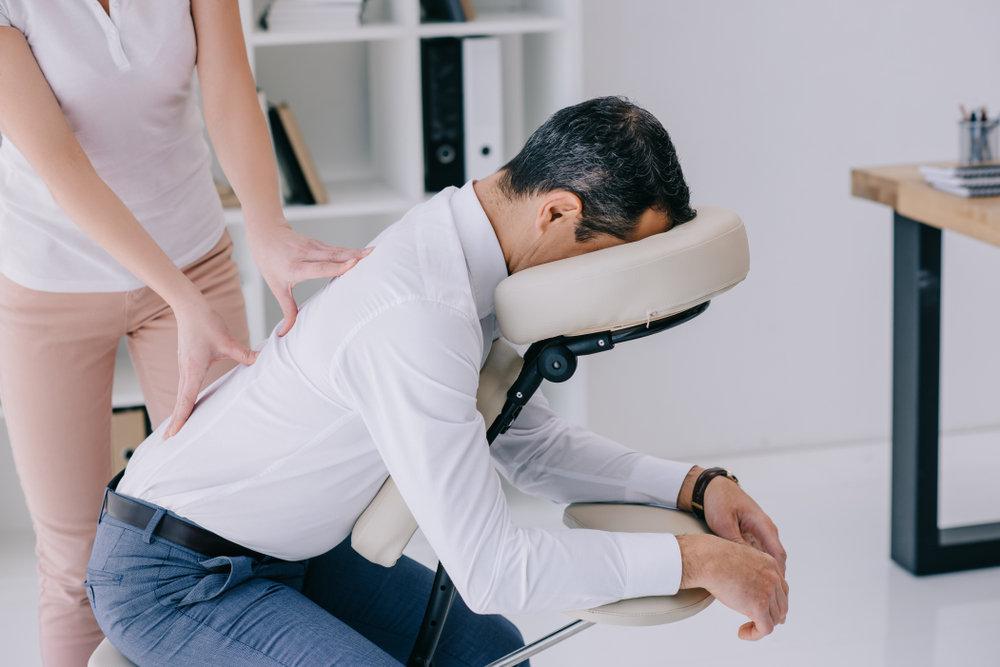 Onsite Chair Massage - Bristol