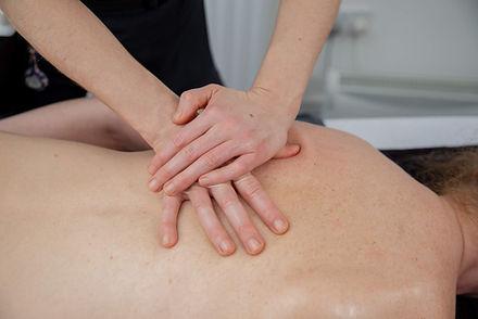 Back, Neck and Shoulder Massage
