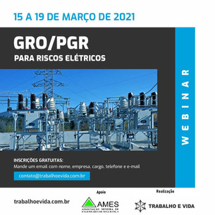 Webinar - GRO/PGR - NR 10