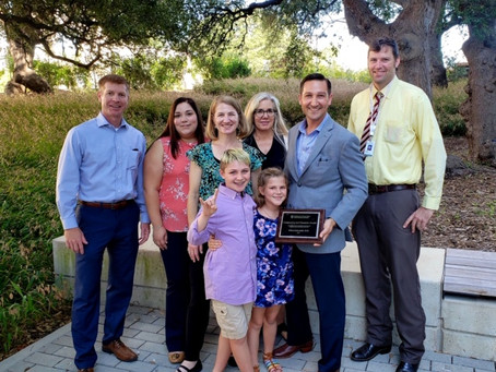 Dr. Gottschalk Receives Dell Medical School Compassion and Character Award