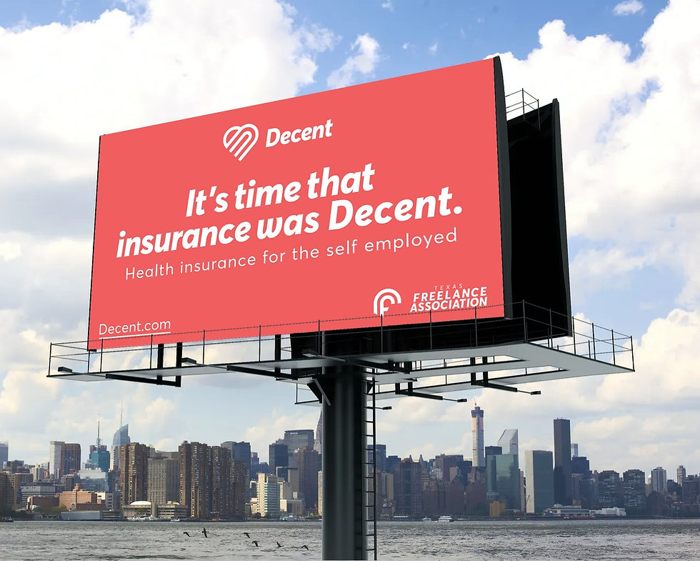 Award winning healthcare campaigns - billboard