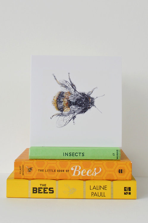 horizontal bee card
