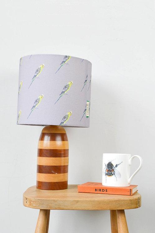 budgie lampshade