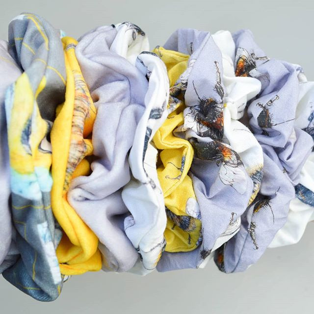 I've listed some scrunchies online as I'