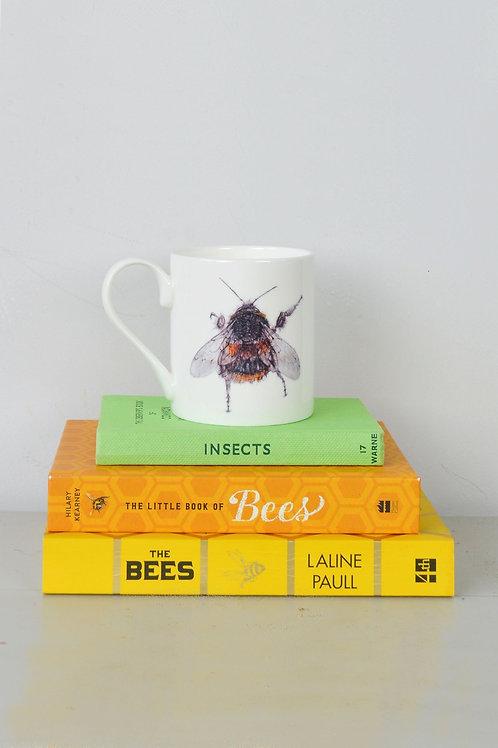 bee fine bone china mug