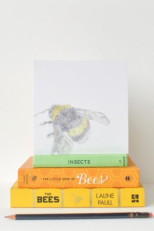 pale bee card