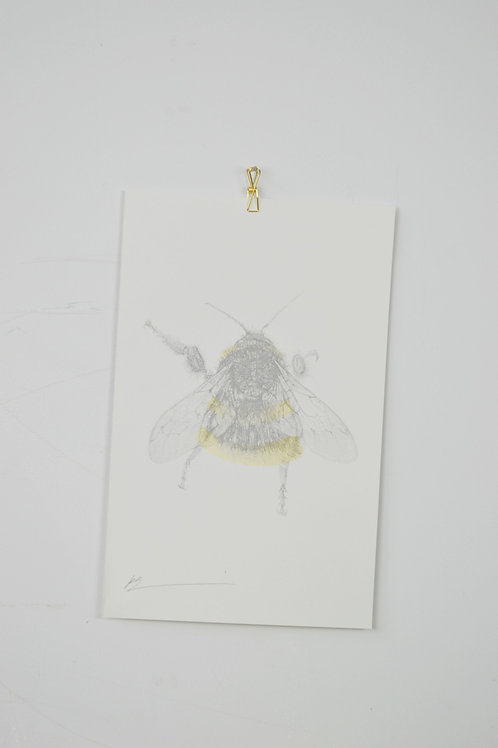 bee riso print small