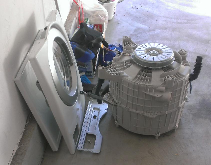 Complete Washer Rebuild