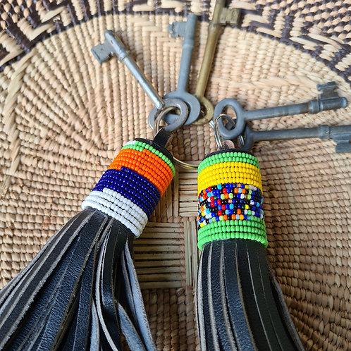 Maasai Tassle Key Rings