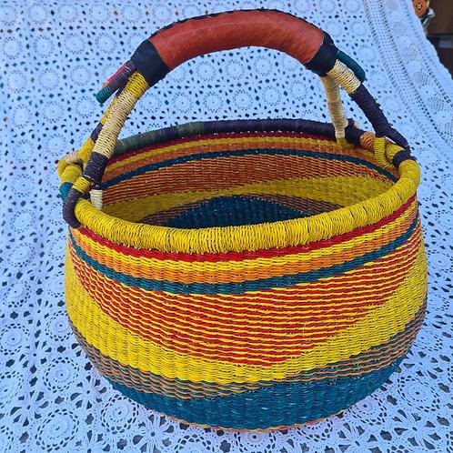 #3 Round African Basket