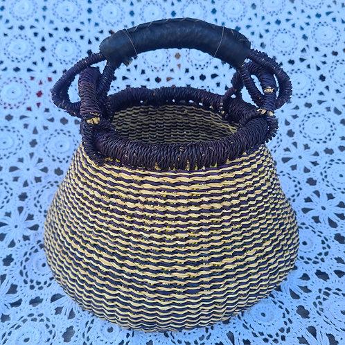 Mini African Pot Basket