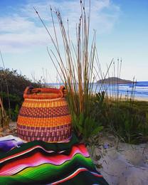 Basket beach visit