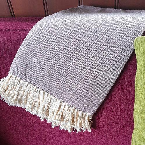 Kenyan Cotton Throw - fucia