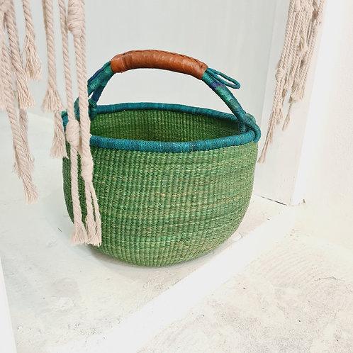 African Basket green