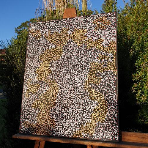 Desert Fringe-Rush Seed Dreaming 76 x 61 cm