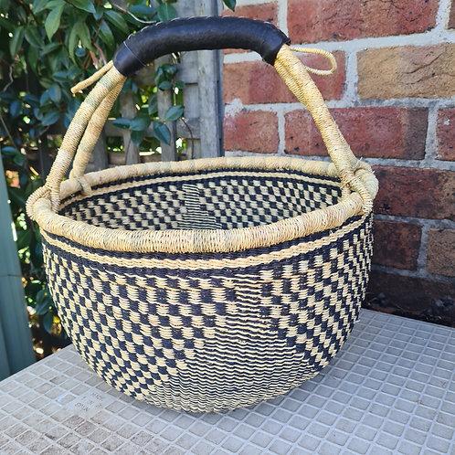 #8 African Round Basket