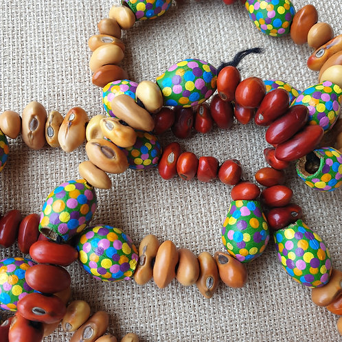 Ininti Seed & Gumnut Necklace