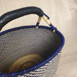 Round African Market Basket