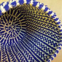 Blue Kiondo Kenyan Basket