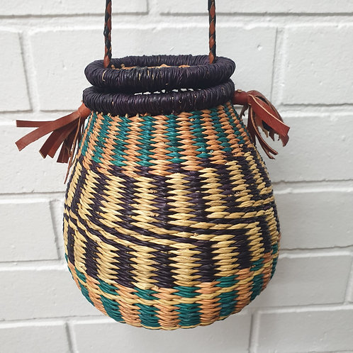Honey Pot Bolga Basket