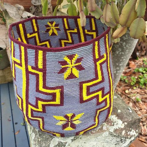 Aztec fine weave Kiondo