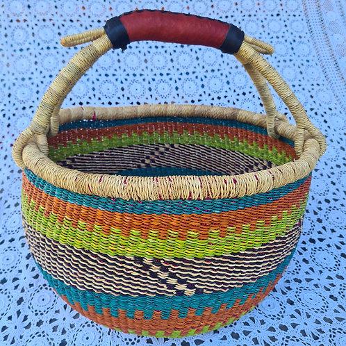 #4 Round African Basket