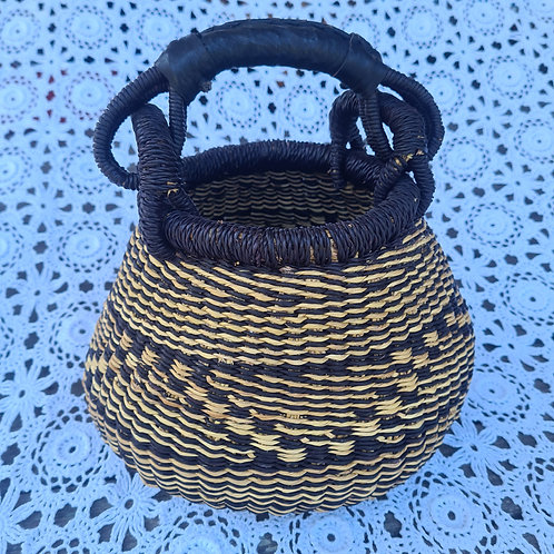 Mini African Pot  Basket