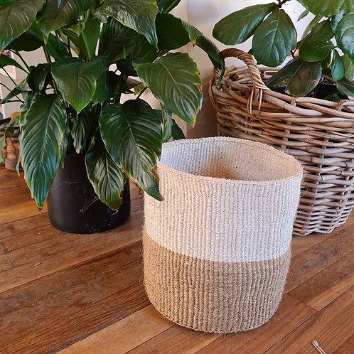 Two tone Kiondo basket
