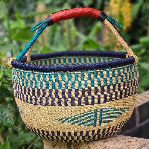 African Basket blue