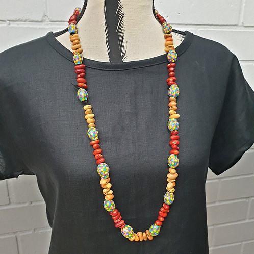 Ininti Seed & Gumnut Necklace