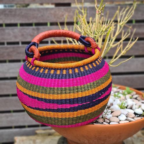 African bulb basket