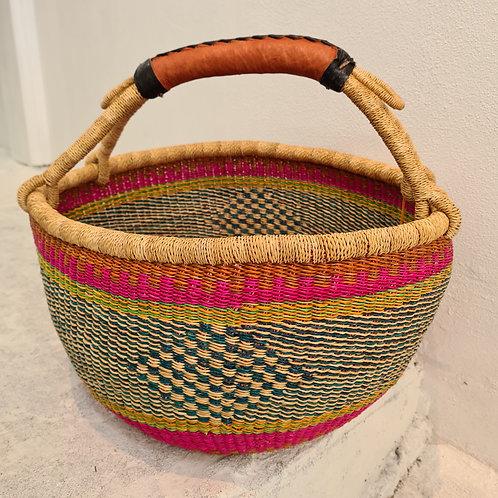 Round African Basket - Kamaria