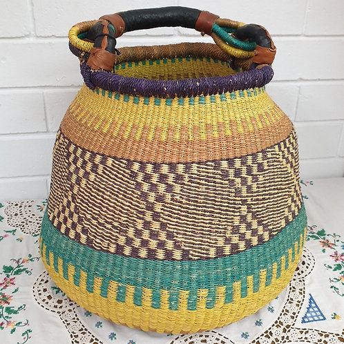 African Pot Basket