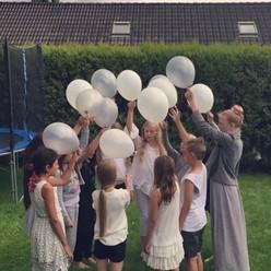 ballongslipp for bursdagsbarnet