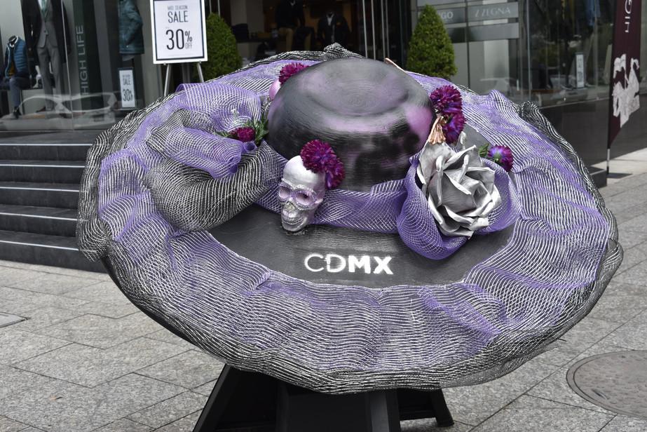 sombreros-gigantes- La Catrina Fest MX