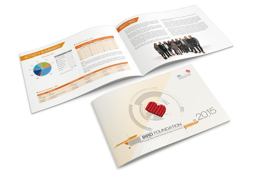 עיצוב חוברת בירד 2015